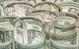 Het labyrint van het geld Royalty-vrije Stock Foto's