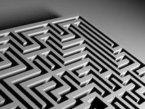 Het Labyrint van het labyrint Stock Foto's