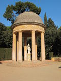 Het Labyrint van parkhorta 'in Barcelona Stock Foto