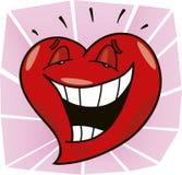 Het lachen hart Royalty-vrije Stock Fotografie