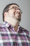 Het lachen hoofd weg Royalty-vrije Stock Foto