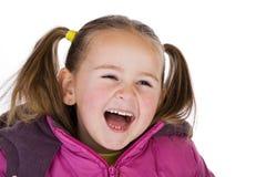 Het lachen jong geitje Royalty-vrije Stock Fotografie