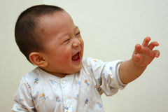 Het lachen jong geitje Royalty-vrije Stock Foto