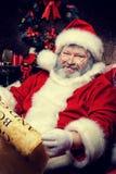 Het lachen Kerstman Royalty-vrije Stock Afbeelding