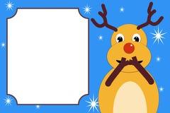 Het lachen Kerstmisherten Stock Fotografie