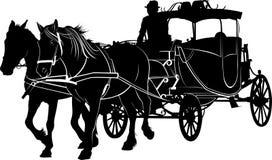Het lachen Paard stock illustratie
