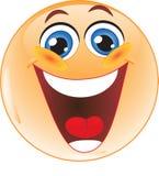 Het lachen Smiley. Royalty-vrije Stock Afbeelding