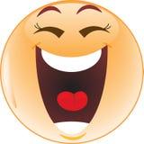 Het lachen smiley Royalty-vrije Stock Foto