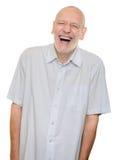 Het lachen van de mens stock afbeeldingen