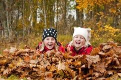 Het lachen van kinderen Royalty-vrije Stock Foto's