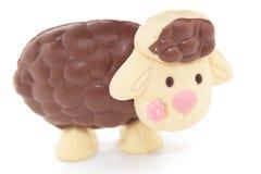Het Lam van de chocolade Stock Afbeeldingen