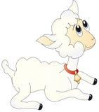 Het lamsillustratie van schapen Royalty-vrije Stock Foto
