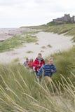 Het lanceren van de duinen Royalty-vrije Stock Foto's