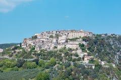 Het land van Calvi in Umbrië Royalty-vrije Stock Fotografie