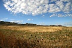 Het land van de prairie royalty-vrije stock foto's