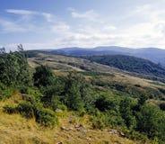 Het land van de wildernis cevennes stock afbeeldingen