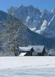 Het land van de winter Stock Afbeeldingen
