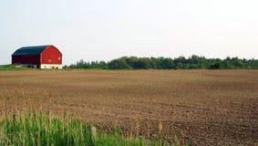 Het land van het landbouwbedrijf Stock Foto's