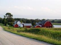 Het land van het landbouwbedrijf Royalty-vrije Stock Afbeeldingen