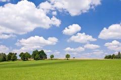 Het land van het landbouwbedrijf Stock Afbeeldingen