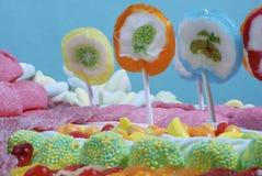 Het land van het suikergoed stock foto's