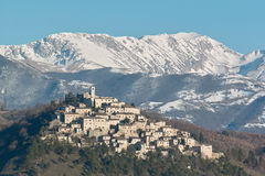 Het land van labro en bergterminillo Royalty-vrije Stock Fotografie