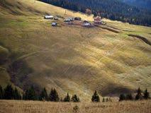 Het land van Mont-Blanc, Franse Alpen Stock Afbeelding