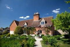 Het Landbouwbedrijf en het huis van Mary Arden's Royalty-vrije Stock Foto's