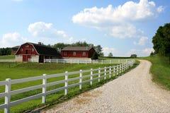 Het Landbouwbedrijf van Amish Royalty-vrije Stock Afbeeldingen