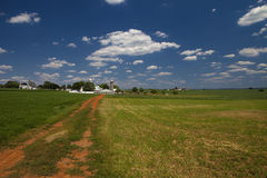 Het Landbouwbedrijf van Amish royalty-vrije stock afbeelding