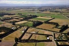 Het landbouwbedrijf van Canterbury Stock Foto