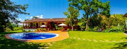 Het landbouwbedrijf van de Veneciakoffie, Manizales, Colombia Stock Afbeelding