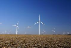 Windlandbouwbedrijf stock foto