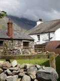 Het landbouwbedrijf van het Lake District stock afbeelding