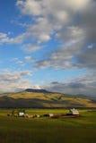 Het Landbouwbedrijf van het land Royalty-vrije Stock Foto's