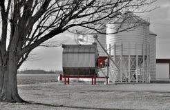 Het landbouwbedrijf van Ohio Stock Foto