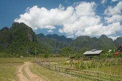 Het Landbouwbedrijf van Vieng van Vang Royalty-vrije Stock Afbeelding