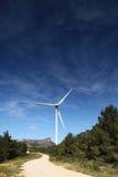 Het landbouwbedrijf van windturbines Royalty-vrije Stock Afbeelding