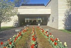 Het landbouwbedrijfhuis van Harry S Truman Presidential Library, Onafhankelijkheid, MO royalty-vrije stock foto