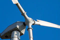 Het landbouwbedrijfturbines van de wind Royalty-vrije Stock Afbeeldingen