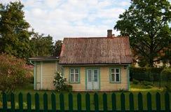 Het landelijke huis Royalty-vrije Stock Fotografie