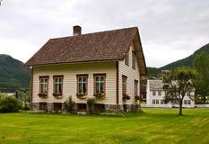 Het landelijke huis Stock Foto's