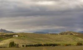 Het landelijke landschap van basilicata Royalty-vrije Stock Fotografie
