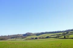 Het landelijke landschap van het platteland Royalty-vrije Stock Fotografie