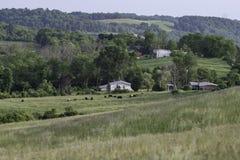 Het landelijke landschap van Ohio royalty-vrije stock foto's
