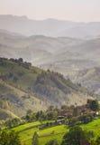 Het landelijke leven in Roemeense bergen Royalty-vrije Stock Afbeeldingen