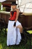 Het landelijke meisje Royalty-vrije Stock Fotografie