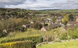 Het landelijke plaatsen van Pateley-Brug in North Yorkshire, Engeland, het UK royalty-vrije stock foto