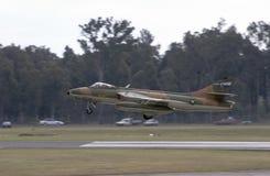 Venter Hunter Landing Stock Foto