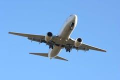Het Landen van het vliegtuig Royalty-vrije Stock Foto's